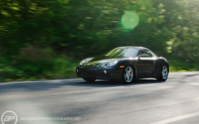 2008 Porsche Cayman S Moving