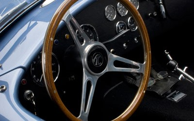 Shelby Cobra Superformance Studio Interior