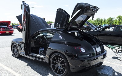Chrysler crossfire SRT 6 coupe black custom