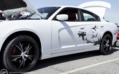 Dodge charger custom graphic storm trooper