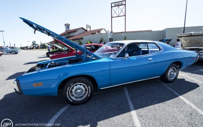 Dodge charger third gen blue