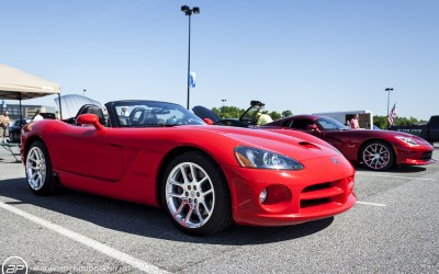 Dodge viper SRT 10 red convertible