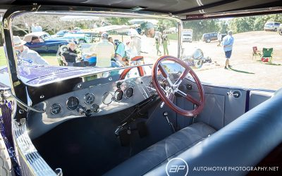 1919 pierce arrow model 66a 4 don lee touring - interior