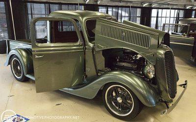 1937 Ford Pickup Custom Green 430HP