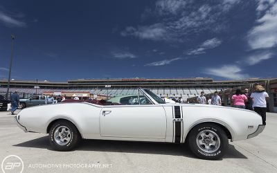 Oldsmobile 442 Convertible White